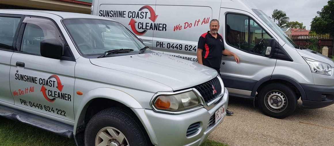 About Rob McDonald Sunshine Coast Cleaner
