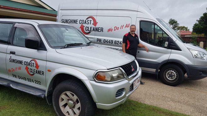 About Rob McDonald Sunshine Coast Cleaner